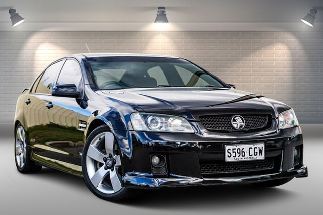 Used Holden Commodore VE SS V Gepps Cross, 2008 Holden Commodore VE SS V Black 6 Speed Sports Automatic Sedan