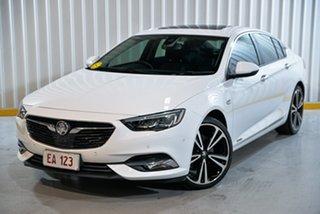 2018 Holden Calais ZB V White 9 Speed Automatic Liftback.