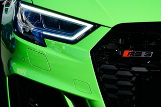 2020 Audi RS 3 8V MY20 Carbon Edition Sportback S Tronic Quattro Green 7 Speed