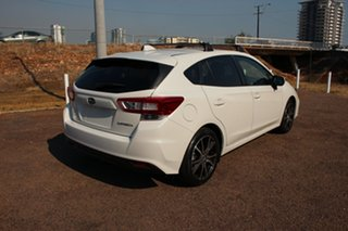 2017 Subaru Impreza G5 MY18 2.0i-L CVT AWD White 7 Speed Continuous Variable Hatchback
