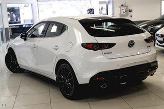 2021 Mazda 3 BP2HLA G25 SKYACTIV-Drive Astina White 6 Speed Sports Automatic Hatchback