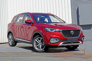2021 MG HS SAS23 MY21 Excite DCT FWD Red 7 Speed Sports Automatic Dual Clutch Wagon.