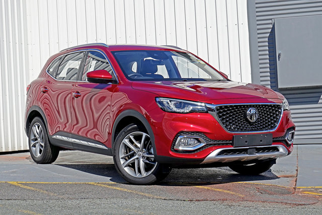 New MG HS SAS23 MY21 Excite DCT FWD Springwood, 2021 MG HS SAS23 MY21 Excite DCT FWD Red 7 Speed Sports Automatic Dual Clutch Wagon