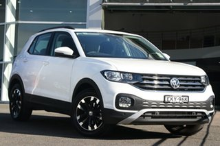 2020 Volkswagen T-Cross C1 MY20 85TSI DSG FWD Life Pure White 7 Speed Sports Automatic Dual Clutch.
