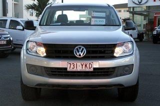 2015 Volkswagen Amarok 2H MY15 TDI340 4x2 Silver 6 Speed Manual Utility