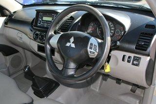2012 Mitsubishi Triton MN MY13 GLX 4x2 Cool Silver 5 Speed Manual Cab Chassis