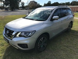 2018 Nissan Pathfinder R52 MY17 Series 2 TI (4x4) Continuous Variable Wagon.