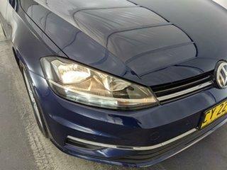2018 Volkswagen Golf 7.5 MY18 110TSI DSG Comfortline Blue 7 Speed Sports Automatic Dual Clutch.