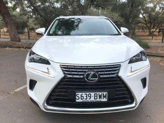 2018 Lexus NX AGZ10R NX300 2WD F Sport White 6 Speed Sports Automatic Wagon.
