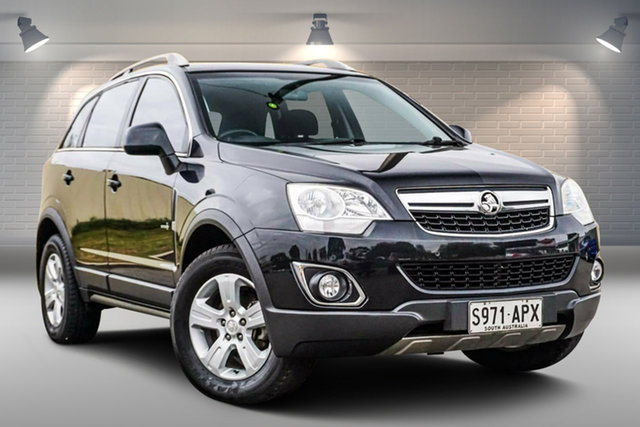 Used Holden Captiva CG Series II MY12 5 Gepps Cross, 2012 Holden Captiva CG Series II MY12 5 Black 6 Speed Sports Automatic Wagon