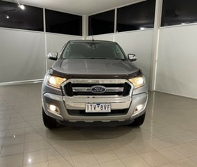 2016 Ford Ranger PX MkII XLT Double Cab Silver, Chrome 6 Speed Sports Automatic Utility.