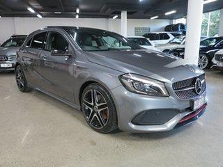 2017 Mercedes-Benz A-Class W176 807MY A250 D-CT 4MATIC Sport Grey 7 Speed.