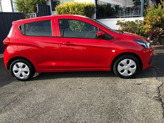 2016 Holden Barina TM MY17 LS Absolute Red 5 Speed Manual Hatchback.