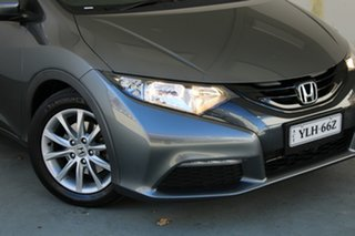 2013 Honda Civic 9th Gen MY13 VTi-S Polished Metal 6 Speed Manual Hatchback