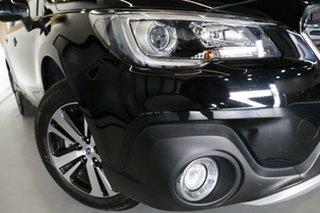 2018 Subaru Outback B6A MY18 2.5i CVT AWD Crystal Black 7 Speed Constant Variable Wagon.