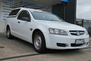 2009 Holden Commodore VE MY09.5 Omega White 4 Speed Automatic Utility.