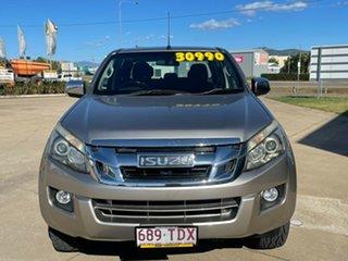 2013 Isuzu D-MAX MY12 LS-U Crew Cab Beige/040613 5 Speed Sports Automatic Utility