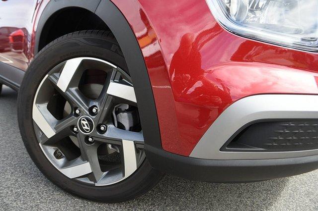 New Hyundai Venue QX.V3 MY21 Elite Totness, 2021 Hyundai Venue QX.V3 MY21 Elite Fiery Red 6 Speed Automatic Wagon