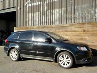 2008 Subaru Tribeca B9 MY08 R AWD Black 5 Speed Sports Automatic Wagon.
