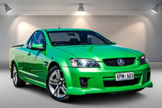 2007 Holden Ute VE SV6 Green 5 Speed Sports Automatic Utility.