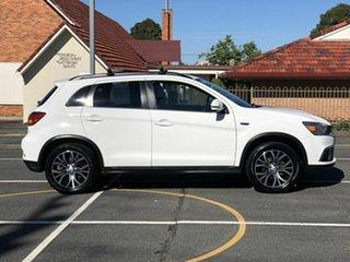 2017 Mitsubishi ASX XC MY18 LS 2WD White 5 Speed Manual Wagon.
