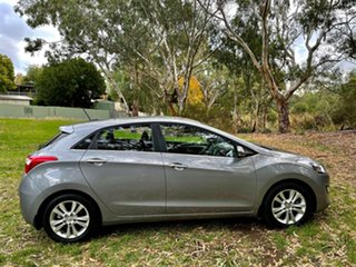 2014 Hyundai i30 GD MY14 Elite Hyper Silver/charcoa 6 Speed Sports Automatic Hatchback.