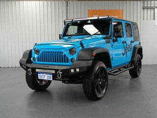 2018 Jeep Wrangler JK MY18 Unlimited Sport Blue 5 Speed Automatic Softtop.