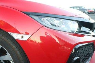 2018 Honda Civic 10th Gen MY18 VTi-S Rallye Red 1 Speed Constant Variable Hatchback