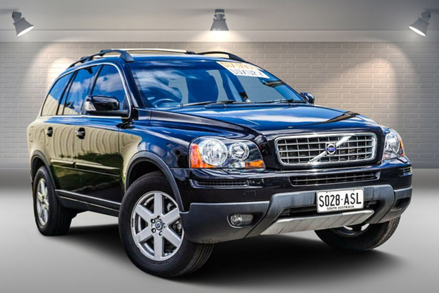 Used Volvo XC90 P28 MY09 LE Gepps Cross, 2008 Volvo XC90 P28 MY09 LE Black 6 Speed Sports Automatic Wagon
