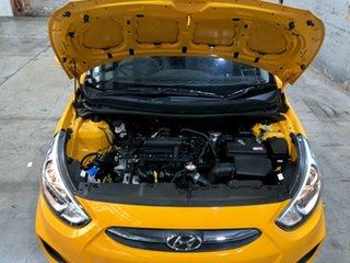 2017 Hyundai Accent RB5 MY17 Sport Yellow 6 Speed Manual Sedan