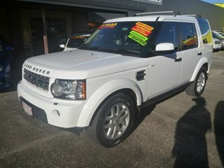 2010 Land Rover Discovery 4 Series 4 10MY TdV6 CommandShift White 6 Speed Automatic Wagon.
