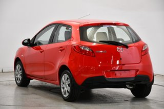2011 Mazda 2 DE10Y2 MY12 Neo Red 4 Speed Automatic Hatchback