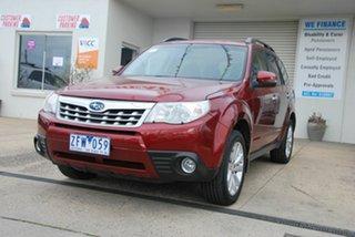 2011 Subaru Forester MY11 XS Premium Red 4 Speed Auto Elec Sportshift Wagon.
