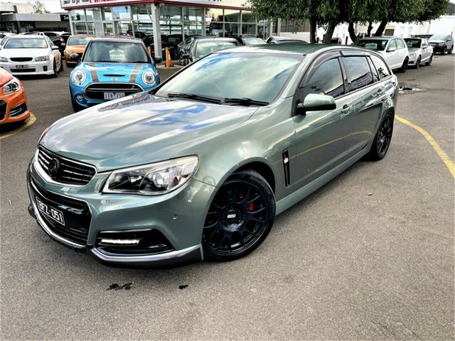 Used Holden Commodore VF MY14 SS Sportwagon Seaford, 2013 Holden Commodore VF MY14 SS Sportwagon Grey 6 Speed Sports Automatic Wagon