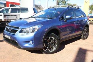2014 Subaru XV MY14 2.0I Blue Continuous Variable Wagon.