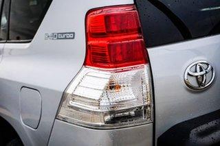 2012 Toyota Landcruiser Prado KDJ150R Kakadu Silver 5 Speed Sports Automatic Wagon