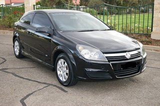 2005 Holden Astra AH MY06 CD Black 5 Speed Manual Coupe.