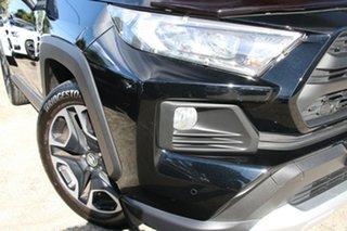 2019 Toyota RAV4 Axaa54R Edge AWD Eclipse Black 8 Speed Automatic Wagon.