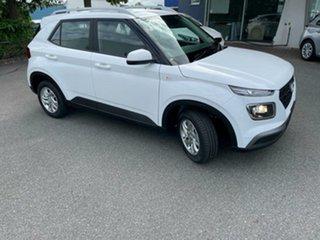 2021 Hyundai Venue QX.V3 MY21 Polar White 6 Speed Manual Wagon.