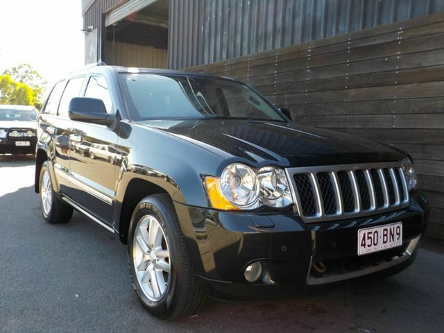 Used Jeep Grand Cherokee WH MY2010 Overland Labrador, 2010 Jeep Grand Cherokee WH MY2010 Overland Black 5 Speed Automatic Wagon