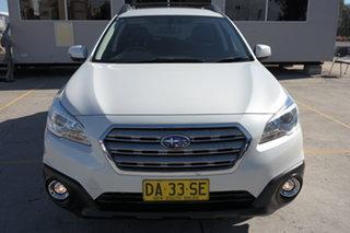2016 Subaru Outback B6A MY16 2.0D AWD White 6 Speed Manual Wagon.