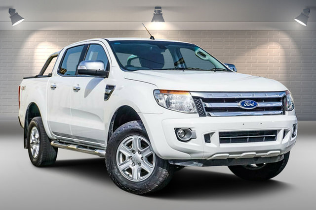 Used Ford Ranger PX XLT Double Cab Gepps Cross, 2015 Ford Ranger PX XLT Double Cab White 6 Speed Sports Automatic Utility