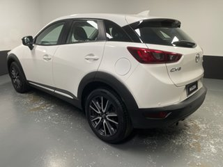 2017 Mazda CX-3 DK2W76 Akari SKYACTIV-MT White 6 Speed Manual Wagon