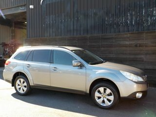 2009 Subaru Outback B5A MY10 2.5i AWD Silver 6 Speed Manual Wagon.
