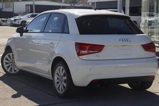 2014 Audi A1 8X MY14 Attraction Sportback S Tronic Glacier White 7 Speed