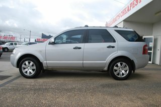 2007 Ford Territory SY TX (RWD) Silver 4 Speed Auto Seq Sportshift Wagon.