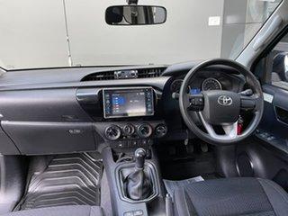 2017 Toyota Hilux GUN126R SR Extra Cab Grey 6 Speed Manual Utility