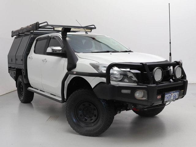 Used Mazda BT-50 MY16 XTR (4x4), 2016 Mazda BT-50 MY16 XTR (4x4) White 6 Speed Manual Dual Cab Utility