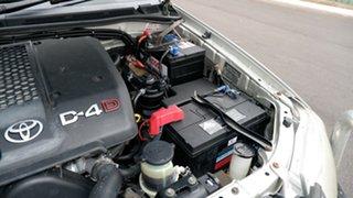 2009 Toyota Hilux KUN26R MY09 SR5 Champagne 5 Speed Manual Utility