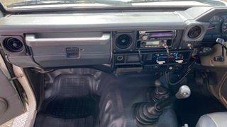 2002 Toyota Landcruiser HZJ79R 4x4 White 5 Speed Manual Utility